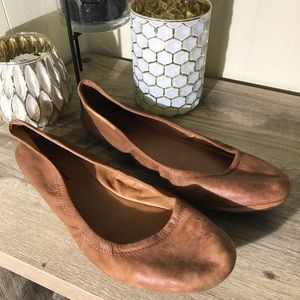 Lucky Brand | Leather Flats
